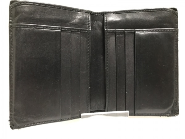ボッテガヴェネタ カードケース イントレチャート 113113 黒 レザー 3