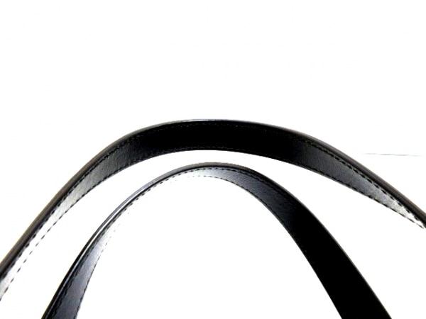 カルティエ トートバッグ美品  ハッピーバースデー 黒 レザー 5