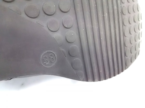 ルコライン スニーカー 38 レディース美品  ダークブラウン レザー 7