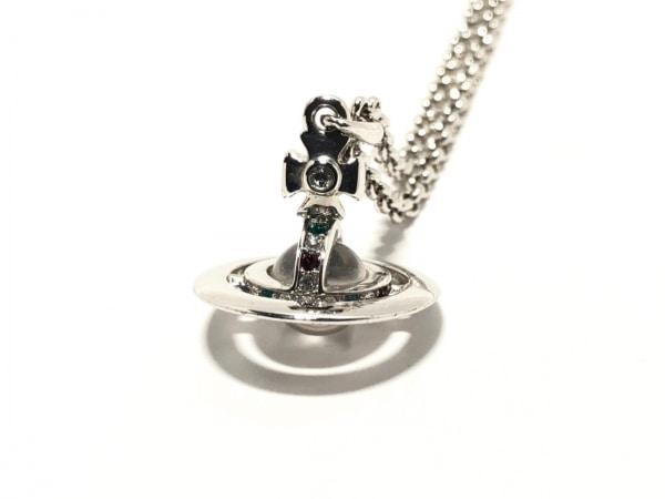 ヴィヴィアンウエストウッド ネックレス 金属素材×ラインストーン 1