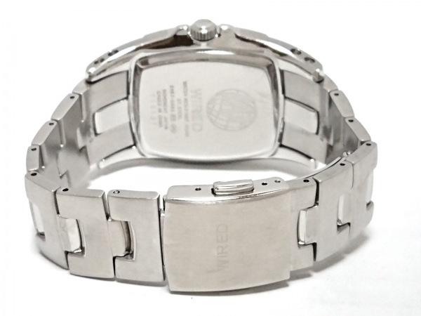WIRED(ワイアード) 腕時計 5Y67-0AB0 メンズ トリプルカレンダー 黒 3