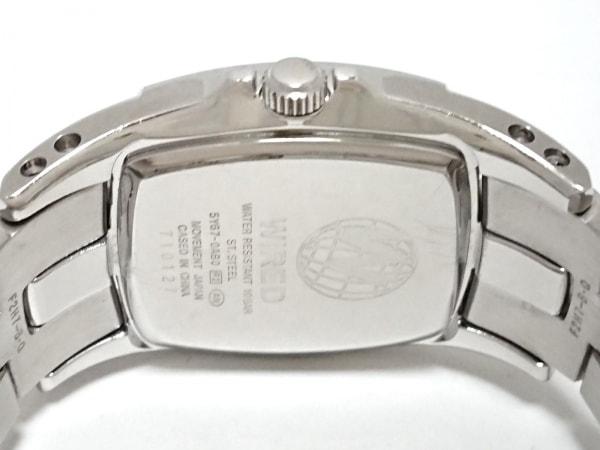 WIRED(ワイアード) 腕時計 5Y67-0AB0 メンズ トリプルカレンダー 黒 4
