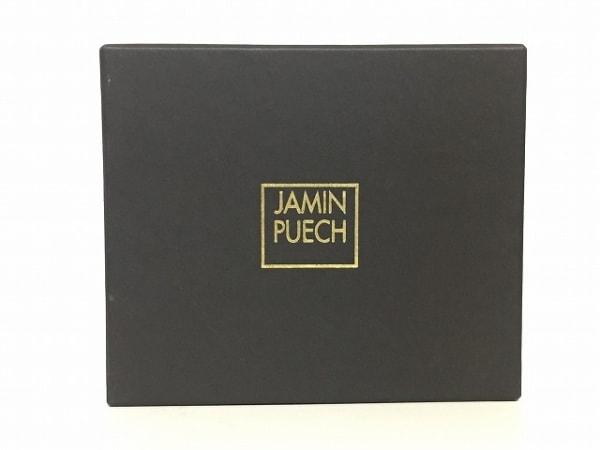 JAMIN PUECH(ジャマンピエッシェ) 3つ折り財布 カーキ レザー 6