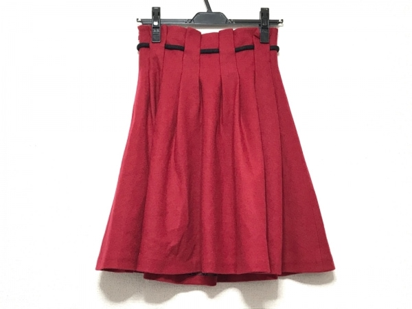 バーバリーブルーレーベル スカート サイズ36 S レディース - レッド 2