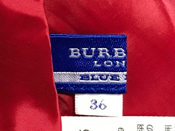バーバリーブルーレーベル スカート サイズ36 S レディース - レッド 3