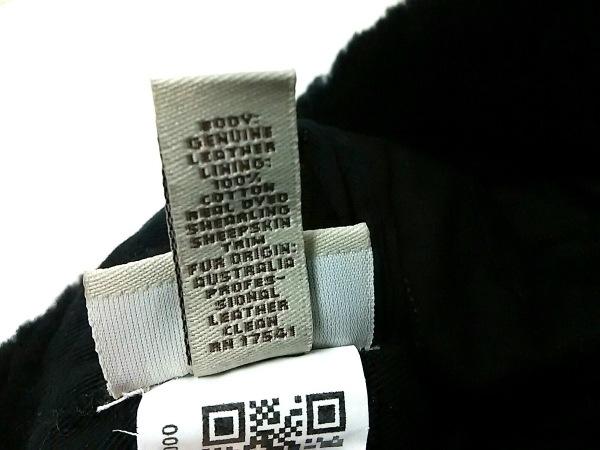 UGG(アグ) 帽子 O/S 黒 スエード×コットン 6