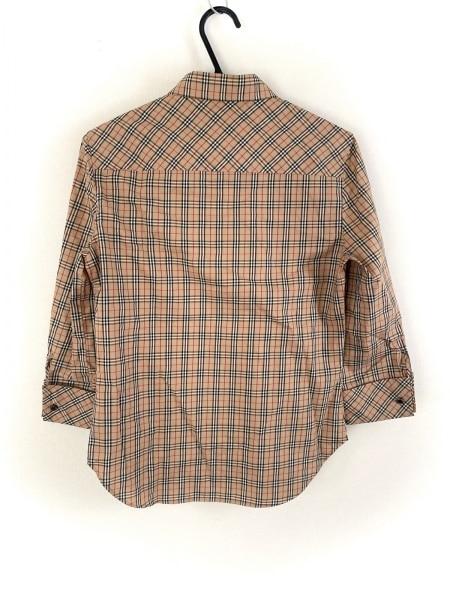 バーバリーブルーレーベル 七分袖シャツブラウス サイズ38 M美品 2