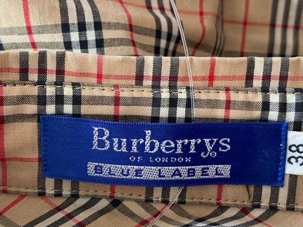 バーバリーブルーレーベル 七分袖シャツブラウス サイズ38 M美品 3