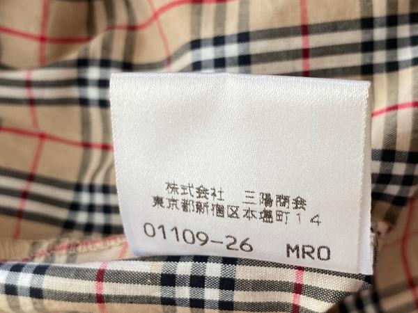 バーバリーブルーレーベル 七分袖シャツブラウス サイズ38 M美品 5