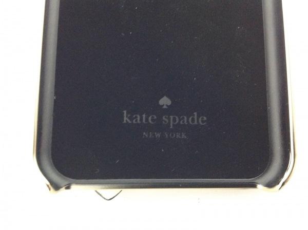 Kate spade(ケイトスペード) 携帯電話ケース ベージュ×ゴールド×黒 4