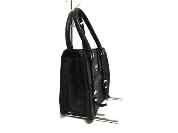 GUESS(ゲス) ハンドバッグ 黒 型押し加工 合皮 2