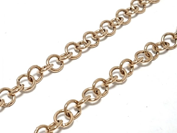 クリスチャンディオール ネックレス 金属素材×ラインストーン 5