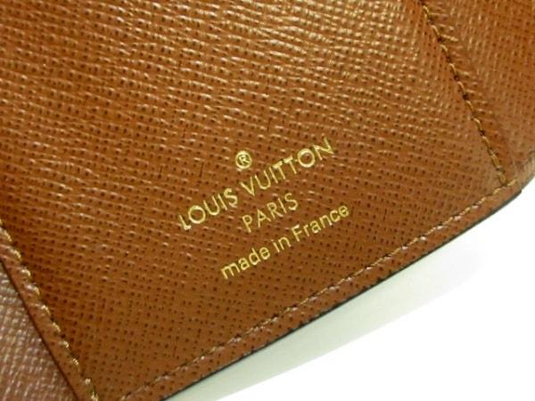 ルイヴィトン 3つ折り財布 モノグラム美品  M62472 モノグラム 5