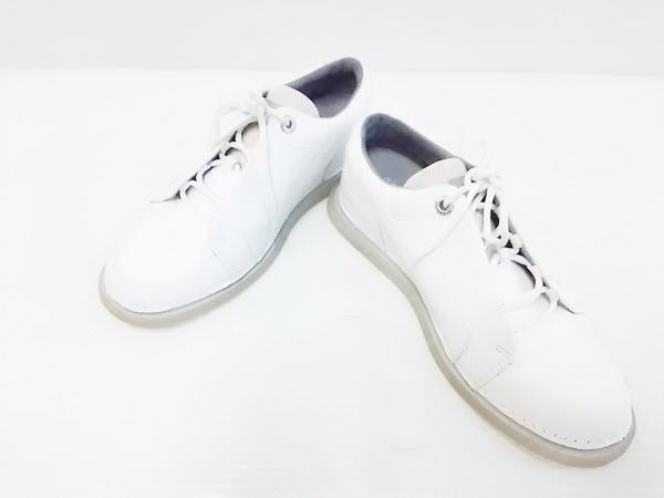 カンペール スニーカー 36 レディース - 白 レザー×化学繊維 2