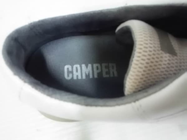 カンペール スニーカー 36 レディース - 白 レザー×化学繊維 5