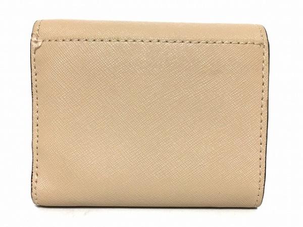 MICHAEL KORS(マイケルコース) 3つ折り財布 - ベージュ レザー 2