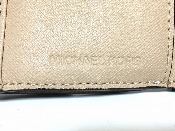 MICHAEL KORS(マイケルコース) 3つ折り財布 - ベージュ レザー 5