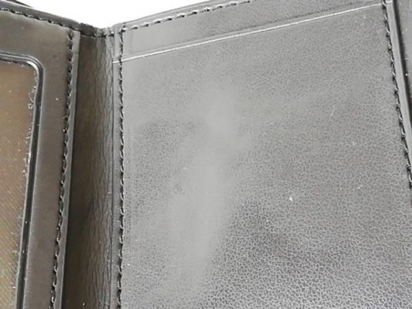 コーチ 3つ折り財布 シグネチャー柄 F41302 ダークブラウン×黒 6