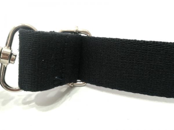 メンズメルローズ ワンショルダーバッグ ブルー×黒×ダークブラウン 6