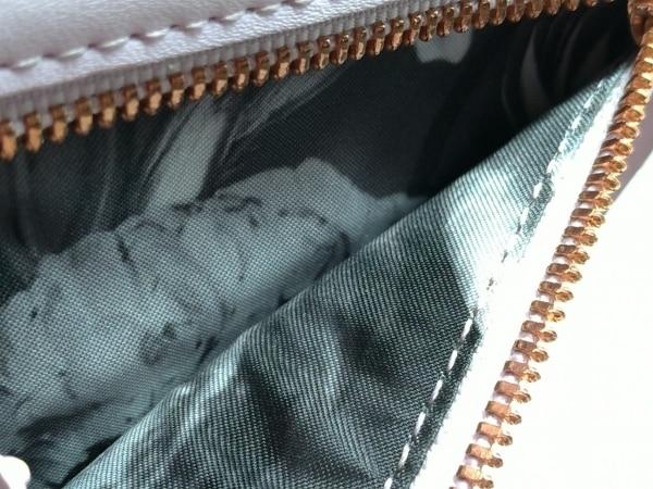 テッドベイカー 3つ折り財布美品  ピンク がま口 レザー×金属素材 4