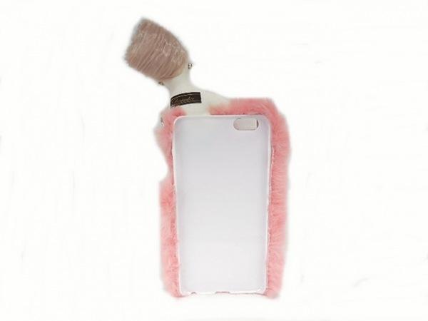 Demodee(デモデ) 携帯電話ケース - ピンク×アイボリー×マルチ 2
