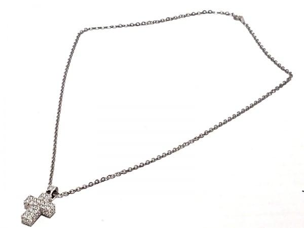 スワロフスキー ネックレス 金属素材×スワロフスキークリスタル 2