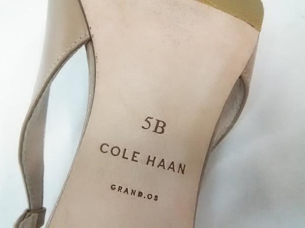 COLE HAAN(コールハーン) サンダル 5 B レディース ベージュ レザー 6