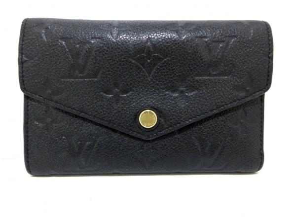 ルイヴィトン 3つ折り財布 モノグラム・アンプラント M60568 1