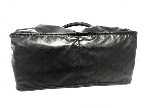 ゲラルディーニ ハンドバッグ 黒 PVC(塩化ビニール)×レザー 4