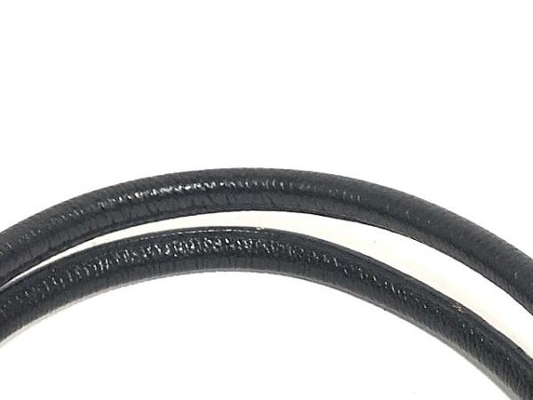 ゲラルディーニ ハンドバッグ 黒 PVC(塩化ビニール)×レザー 6