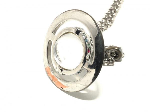 ヴィヴィアンウエストウッド ネックレス 金属素材×カラーストーン 3
