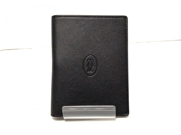 Cartier(カルティエ) 手帳美品  - 黒 レザー 1