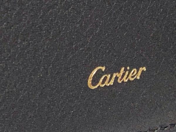 Cartier(カルティエ) 手帳美品  - 黒 レザー 4