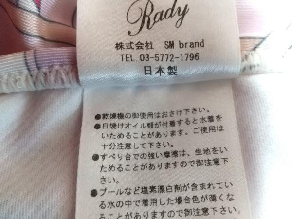 レディ ビキニ サイズM レディース新品同様  - 白×ピンク×パープル 3