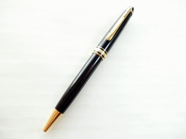 モンブラン ボールペン美品  マイスターシュティック 黒×ゴールド 1