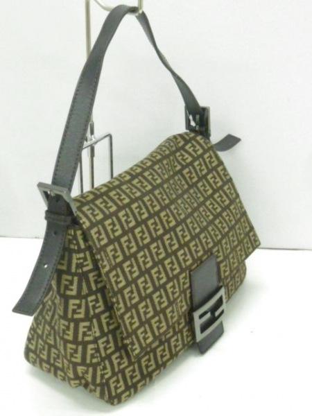 FENDI(フェンディ) ショルダーバッグ美品  マンマバケット 8BR001 2