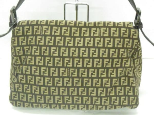FENDI(フェンディ) ショルダーバッグ美品  マンマバケット 8BR001 3