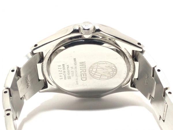 WIRED(ワイアード) 腕時計 V14J-0AS0 メンズ トリプルカレンダー 黒 4