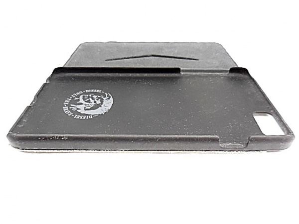 DIESEL(ディーゼル) 携帯電話ケース ライトブルー×黒 手帳型 3