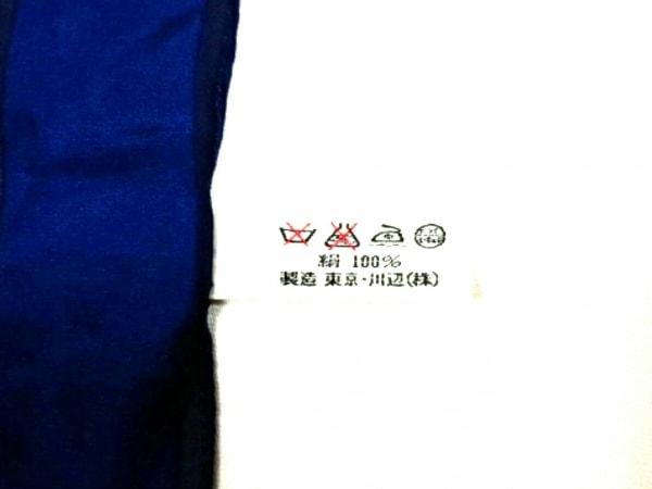 イヴサンローラン スカーフ美品  - ブルー×レッド×マルチ 3