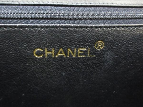 CHANEL(シャネル) ショルダーバッグ マトラッセ 黒 ラムスキン 7