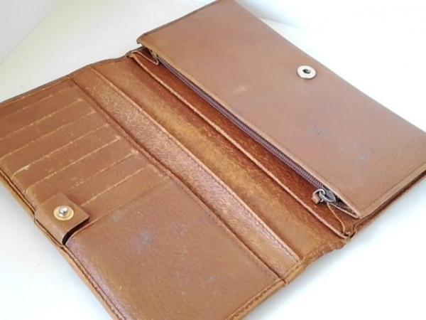 GUCCI(グッチ) 長財布 - 120943 ブラウン レザー 3