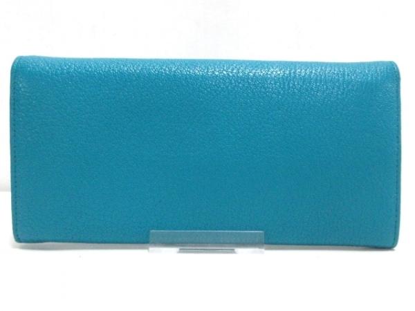 ミュウミュウ 長財布美品  マドラスフィオッコ 5MH109 グリーン 2