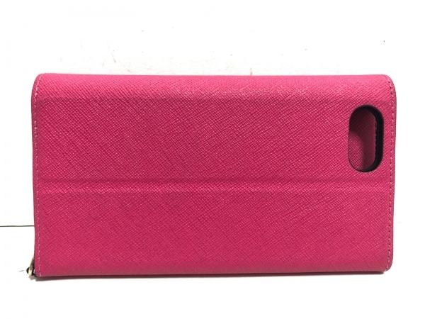 Kate spade(ケイトスペード) 携帯電話ケース - ピンク レザー 2