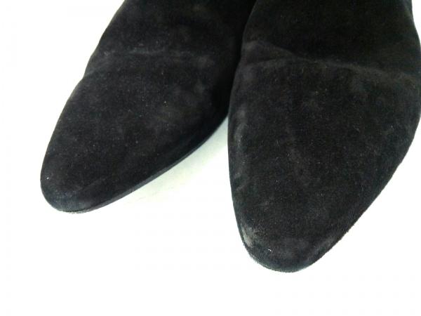 サンローランパリ ショートブーツ 43 メンズ 黒 サイドゴア 6