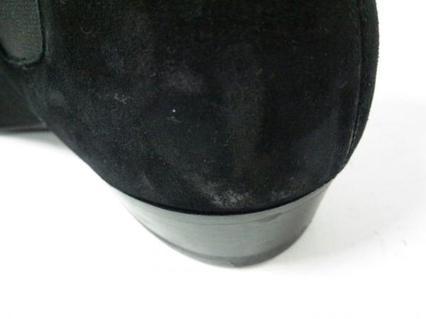 サンローランパリ ショートブーツ 43 メンズ 黒 サイドゴア 7