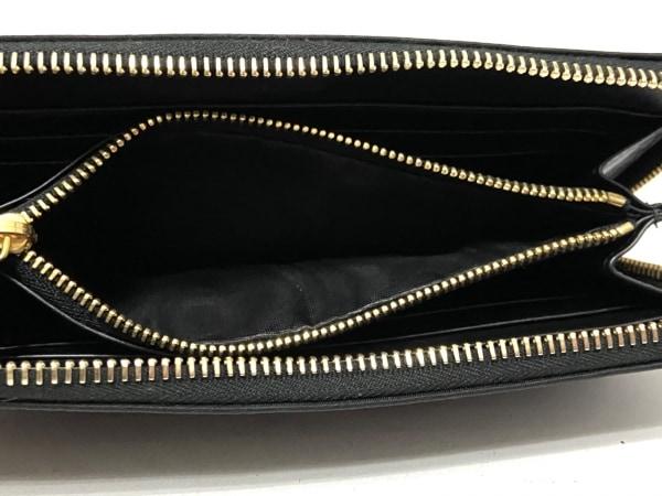 PRADA(プラダ) 長財布 - 1M0506 黒 ラウンドファスナー ナイロン 4