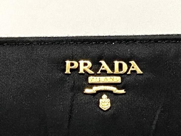 PRADA(プラダ) 長財布 - 1M0506 黒 ラウンドファスナー ナイロン 5