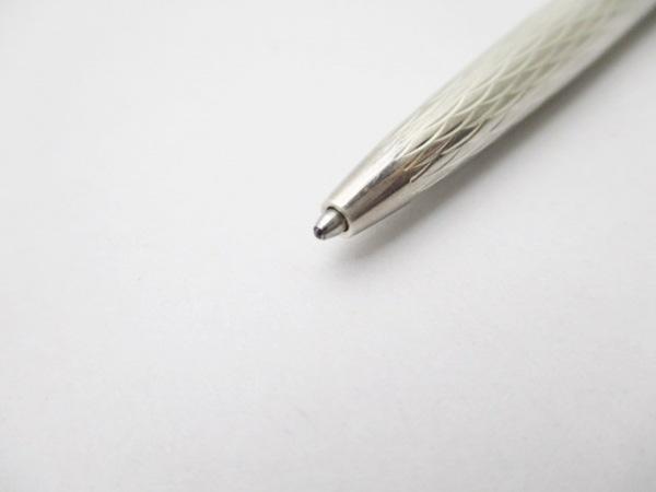 TIFFANY&Co.(ティファニー) ボールペン シルバー インクあり(黒) 4