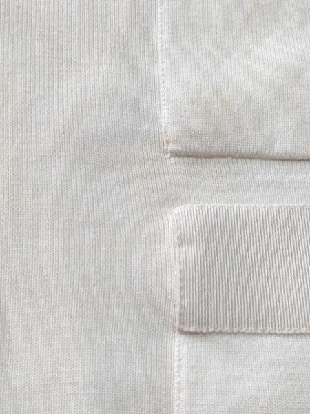 サルバトーレフェラガモ カーディガン サイズS レディース 白 6